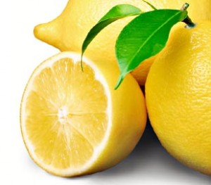 lemon healing properties