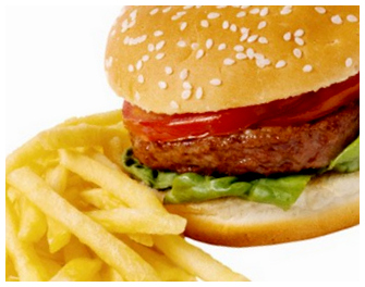 stop eating fast food to lose weight