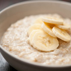 whole oats porridge to lose weight
